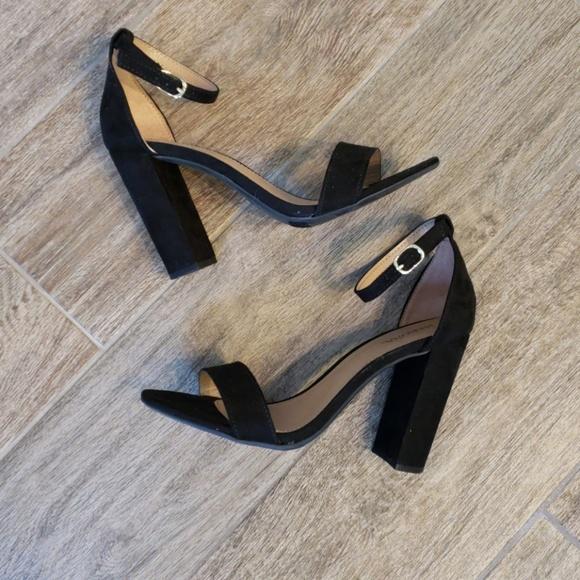 2048e994422 Merona Shoes - Merona LuLu Block Heel Sandals Sz 6.5